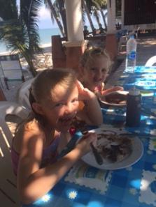Mira Mare chocolate pancakes