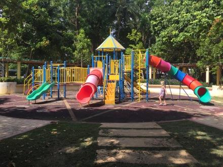 Playground at Black Sand Beach