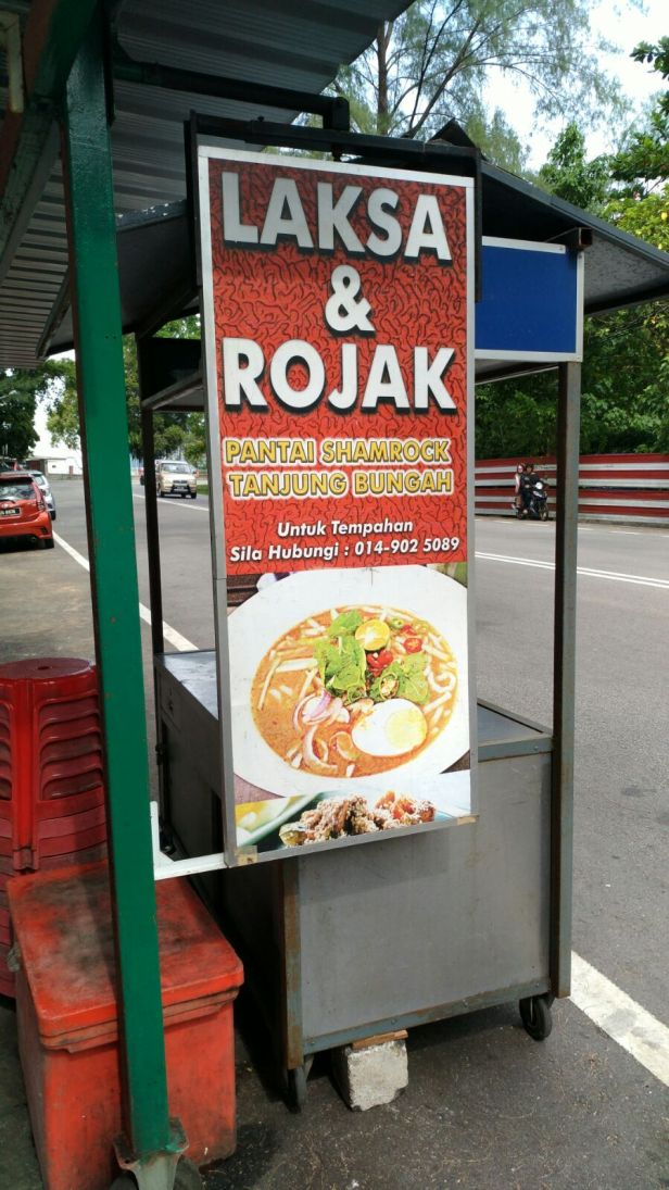 Local food stall