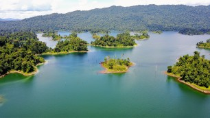 Islands of Lake Kenyir