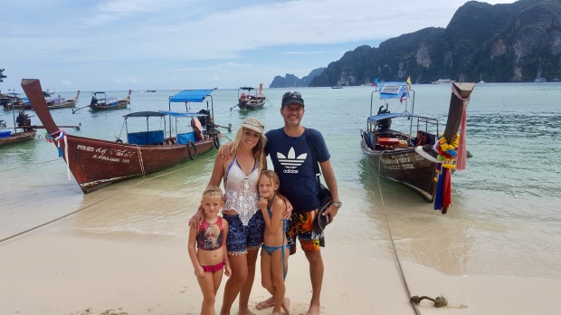 Exploring Phi Phi with our family