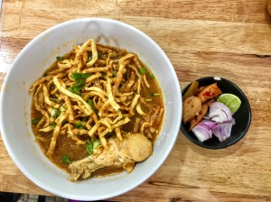 Khao Soi Chiang Mai Food